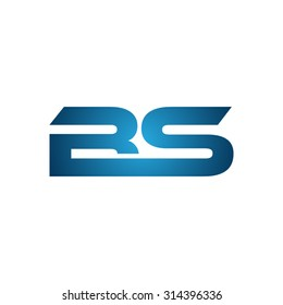 BS company linked letter logo