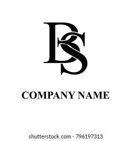 bs initial logo design