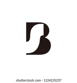 bs letter vector logo