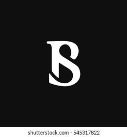 BS or SB logo icon