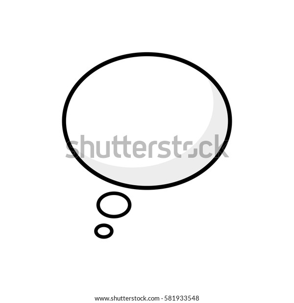 Bubble chat speakbox icon vector illustration graphic design