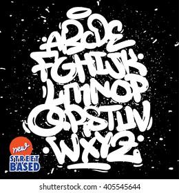 Bubble Handletterin Graffiti Font