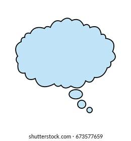 bubble speak cloud dialog message