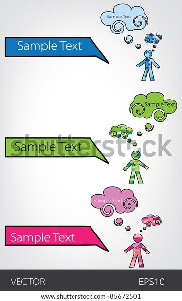 bubbles for speech