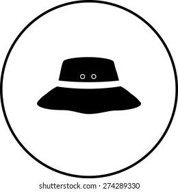 bucket hat symbol