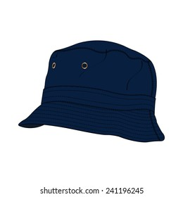 08293c8da4b29 Bucket Hat Vector Fashion Accessory