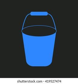 Bucket - vector icon.
