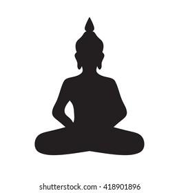 buddha icon vector