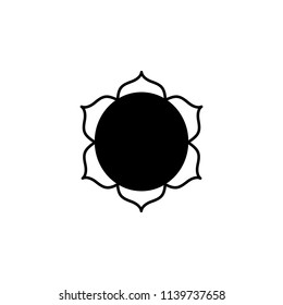 Buddhism Lotus Flower sign icon. Element of religion sign icon for mobile concept and web apps. Detailed Buddhism Lotus Flower icon can be used for web and mobile on white background
