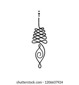 Buddhist symbol for life path