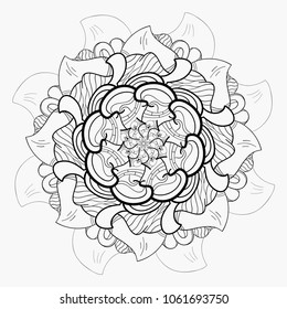 Budha Flower Mandala