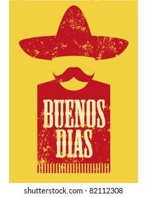Buenos Dias Poster