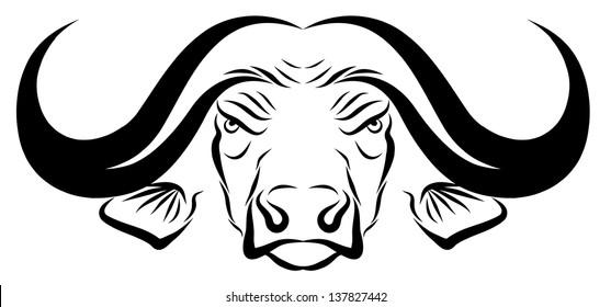 Buffalo Head Symbol