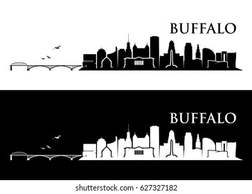 buffalo skyline images stock photos vectors shutterstock