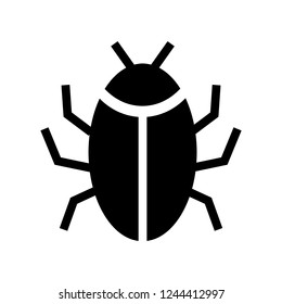 bug glyphs icon