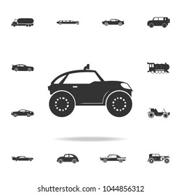 buggy car icon. Detailed set of transport icons. Premium quality graphic design. One of the collection icons for websites, web design, mobile app on white background
