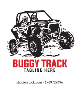 Buggy Extreme Sport, good for team  and racing club logo