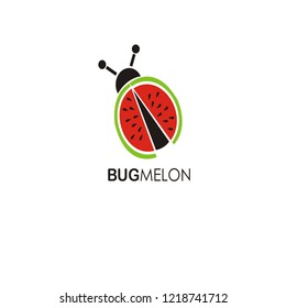bugmelon logo design