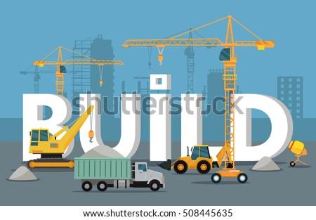 Construction Equipment Banners Header Banners