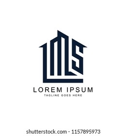 build initial L S M logo template