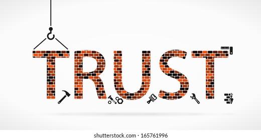 Build trust construction site
