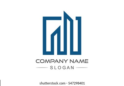 building architecture logo line