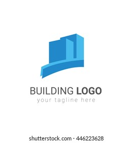 Building and architecture logo template