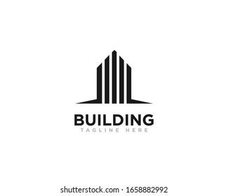 Building Construction Logo Design Vector