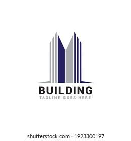 Building construction logo vector template.