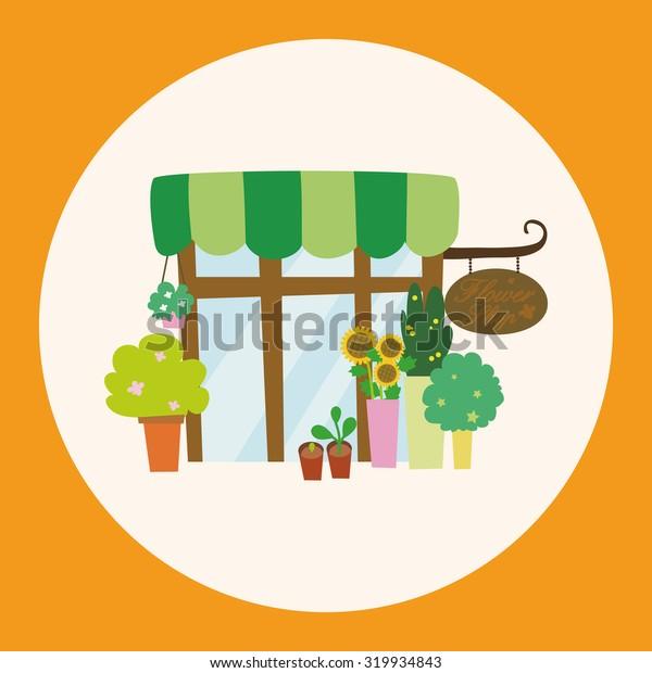 Building flower shop theme elements