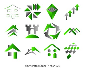 Building and Home Themed Icons Set