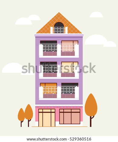 Building House Home Apartment Vector Illustration Stock Vector ... on 3 bed design, flat pool, flat flowers, flat furniture, flat lighting, 2 bedroom design, flat space, flat chair, roofing style roof design, flat wall, lodge design, flat painting, flat decor, flat art, flat storage, flat kitchen, bungalow design, apartment design, flat houses in trinidad, flat photography,