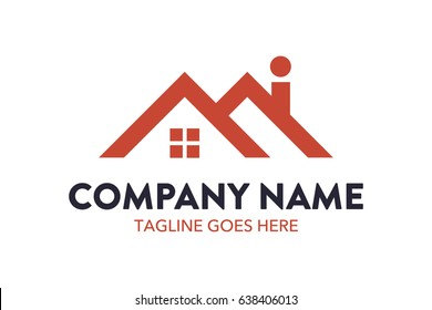 Building And House Logo Template