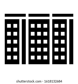 building icon isolated sign symbol vector illustration - high quality black style vector icons