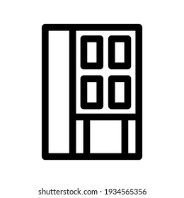 building icon or logo isolated sign symbol vector illustration - high quality black style vector icons