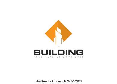 building logo and company icon Vector design Template. Vector Illustrator Eps.10