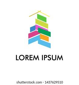 building logo icon for architecture company