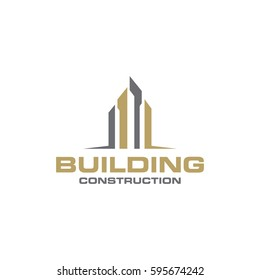 building logo icon vector template