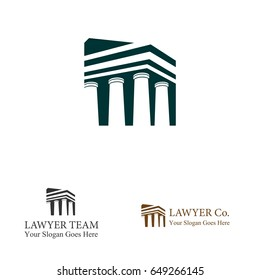 Building Logo for Lawyer Company