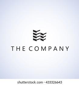 building logo on background