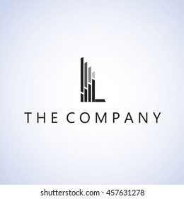 building  logo on background