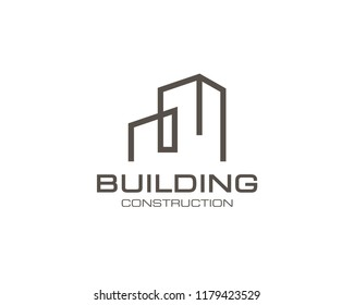 Building Logo Vector Design Template