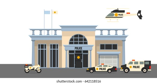 Police Station Sign Images, Stock Photos & Vectors