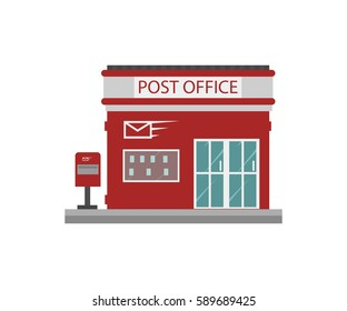 Building of post office