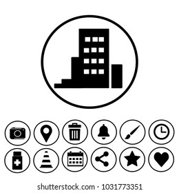 building sign icon