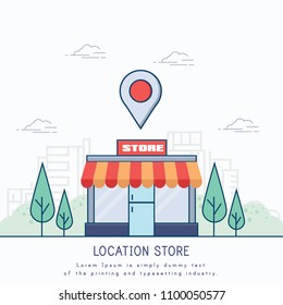 Building Store Location