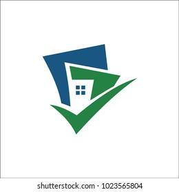 building tick logo vector
