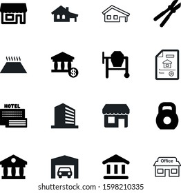 building vector icon set such as: health, gym, company, summer, sport, hotel, underfloor, logistic, pipe, cutter, orange, workout, automobile, concrete-mixer, pipeline, metallic, auto, water