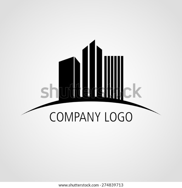Buildings icon for company logo