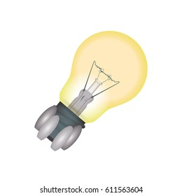 Bulb electric energy
